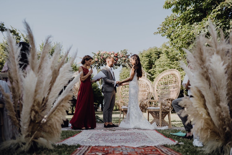 chic bohemian wedding
